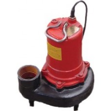 1 HP - 16,500 GPH Cast Iron High Flow Pump