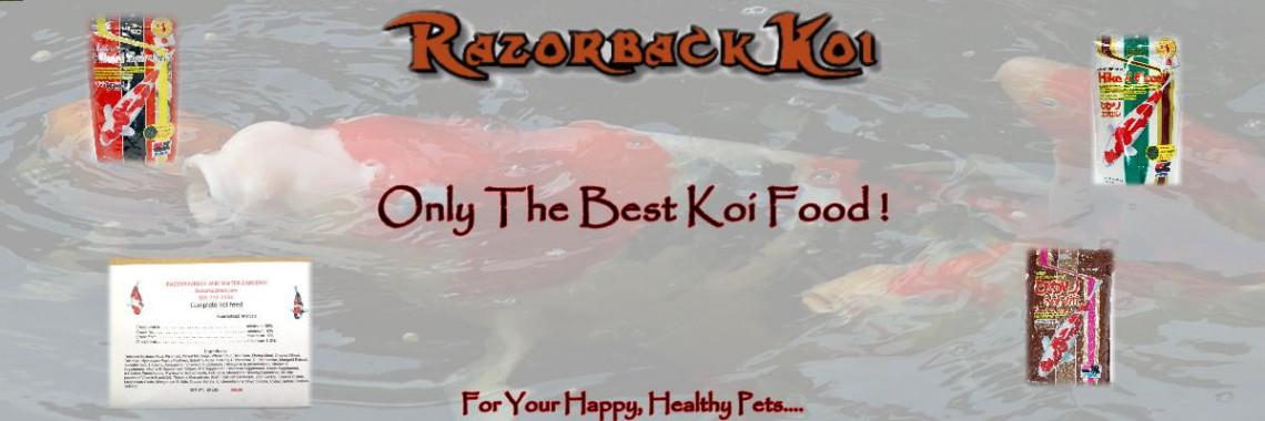 Razor Koi Food